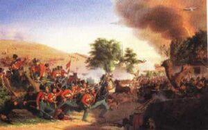 Begivenhederne fra 1848-1850, slaget ved Dybbøl Bjerg