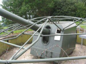 Lnagelandsfportet, 15 cm. kanon