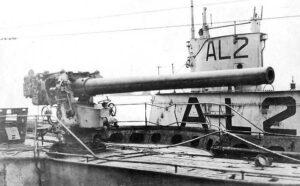 Stillingens svære batterier, 15 cm. kanon i pivotaffutage