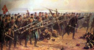 Stormen på Dybbøl 18. april 1864, 8. Brigade
