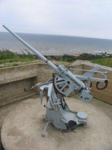 Bangsbofortet, 37 mm. FLAK-kanon