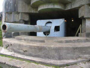 Bangsbofortets historie, 15 cm. kanon i kasemat