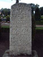 Myten om Pionier Klinke, Denkmal broager kirkegård