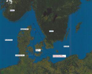 Danske anlæg fra den kolde krig, Forternes placering