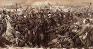 Anden Slesvigske krig, træfningen ved Sankelmark