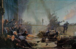 Slaget ved Helgoland, Niels Juel i kamp