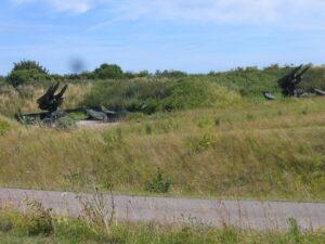 Stevnsfortets HAWK raketter, launcher area