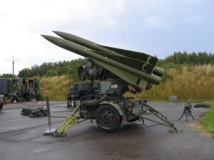 Stevnsfortets HAWK raketter, launcher