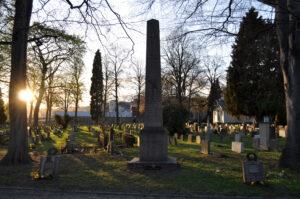 Slaget ved Helgoland, dansk fællesgrav i Kristansand