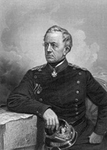 Optræk til krigen 1864, Helmuth von Moltke