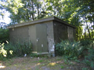 Sigerslev NIKE afskydningsplads, generatorbygning