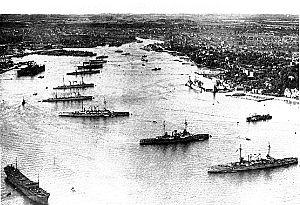 Baggrunden for Sikringsstilling Nord, den tyske flåde i Kiel