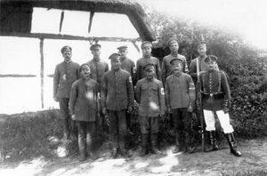 Krigs- og fæstningsfanger i Sikringsstilling Nord, russiske fanger