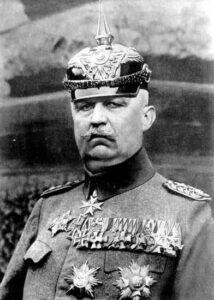 Baggrunden for Sikringsstilling Nord, Eric Ludendorff