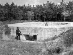 Sikringsstilling Nord Batteri i Mjolden (BA30), brisken 1927
