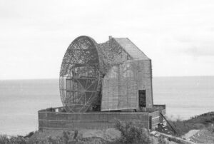 Bangsbofortets historie, den tyske radar