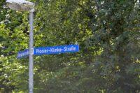 Myten om Pionier Klinke, Pionier Klinke Strasse, Rendsborg