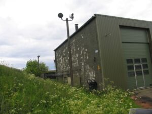 Sigerslev NIKE afskydningsplads, revetted area