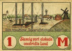 Stillingens andre anlæg,, den tyske Radiostation i Røde Kro. Sikringsstilling Nord