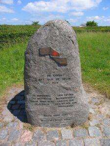 Røde Kors første indsats, mindesten ved Dybbøl