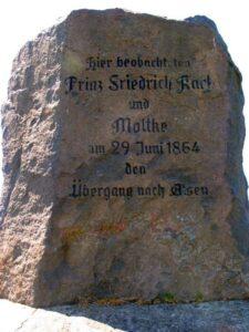 Angrebet på Als, preussisk mindesmærke i skanse X
