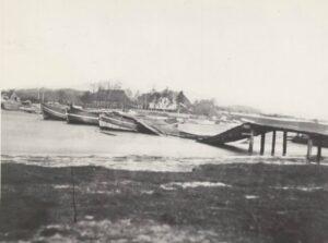 Mysunde 2. februar 1864, ødelagt bro