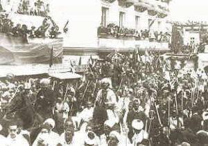 Baggrunden for Sikringsstilling Nord, Kaiser Wilhelm i Marokko