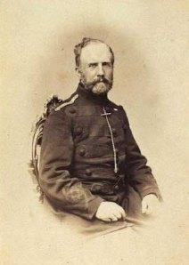 Affæren ved Lundby, oberst Beck