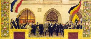 Oprøret 1848, den provisoriske regering i Kiel