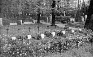 Kapitulation og fred 1864, krigsfangegrave i Schweidnitz