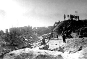 Stormen på Dybbøl 18. april 1864, skanse III