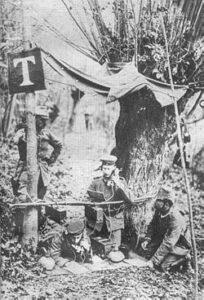 Stillingens andre anlæg,, felttelefon station