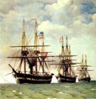 Den danske Flåde 1864, Nordsøeskadren
