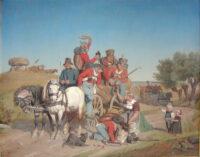 Krigen 1848-50, Dengang jeg drog afsted