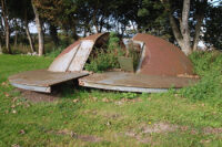 Kuppel fra 105 mm. FLAK