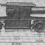 Sikringsstilling Nord, 24 cm kanon transport