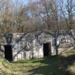 Rester af batteriet i Allerup Krat, Maskingeværbunker, Sikringsstilling Nord