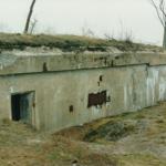 Ammunitionsbunker i Andholm Batteri 1981