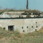 Mandskabsbunker i Andholm batteri 1981