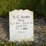 Grave og mindesten i Augustenborg