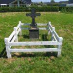 Grave og mindesten på Dybbøl Banke, preussisk grav