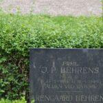 Grave på Garnisons kirkegård og mindesten, PRLT J.P. Behrens, Dybbøl
