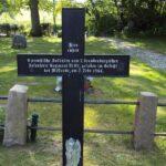 Grave og mindesten på Brodersby kirkegård, 9 Preussere