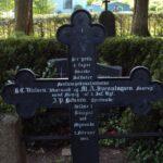 Grave og mindesten på Brodersby kirkegård, 3 danskere