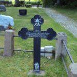 Grave og mindesten på Brodersby kirkegård, Unterofficier Lange 2-2