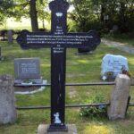 Grave og mindesten på Brodersby kirkegård, Unterofficier Milwolff