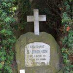 Grave på Garnisons kirkegård og mindesten, Løjtnant Brønnum, Dybbøl
