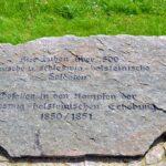 mindesmærker 1848-1850, Bustorff soldater fra begge hære