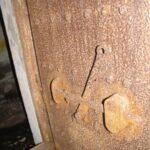 Jerndør i ammunitionsbunker