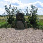 Grave og mindesten på Dybbøl Banke, du Plat, Rosen og Schau